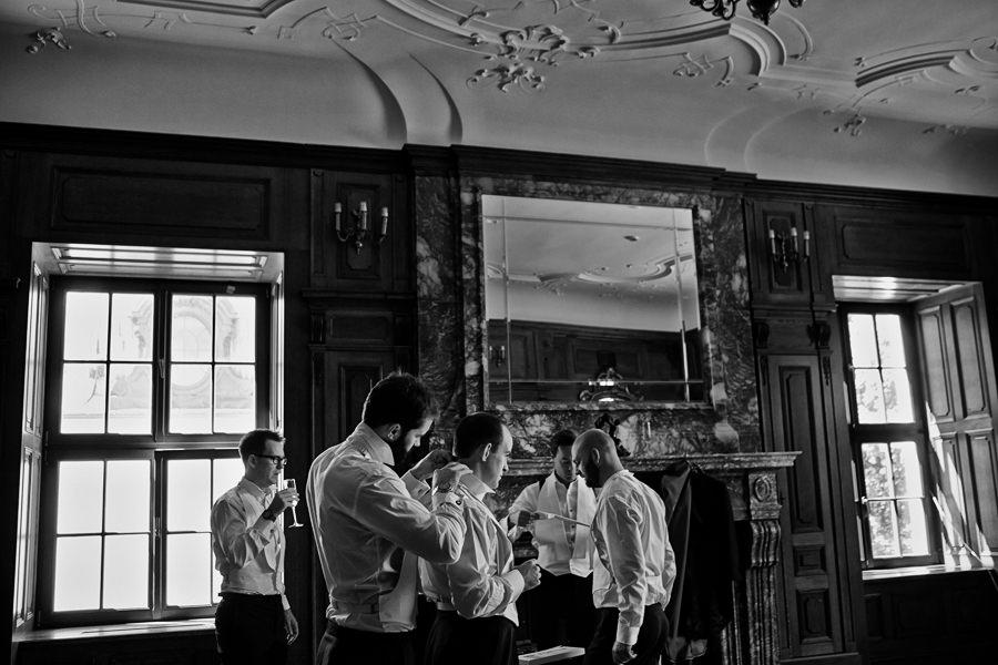przygotowania w pałacu goetz