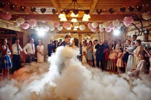 reportaż ślubny, wesele rustykalne, gazdówka pod lasem
