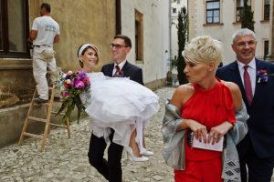 reportaż ślubny kraków, kolegiata świętej anny
