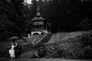 reportaż ślubny kraków, ceremonia ślubna w zakopanem, kościół w jaszczurówce, jaszczurówka