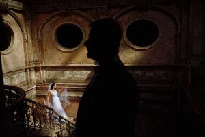 sesja ślubna, sesja w pałacu