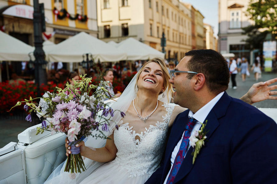 dorożką na wesele
