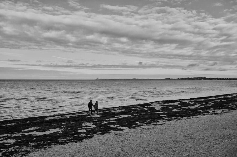 sesja partnerska nad morzem