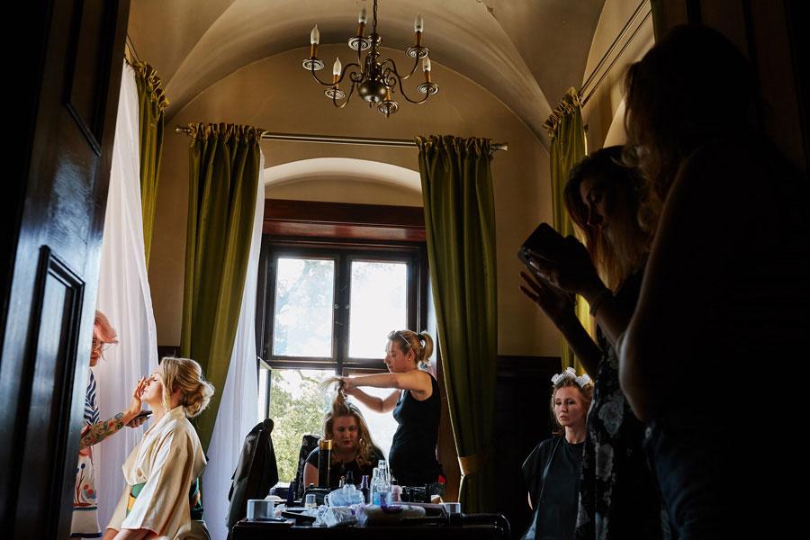 przygotowania do ślubu zamek kliczków