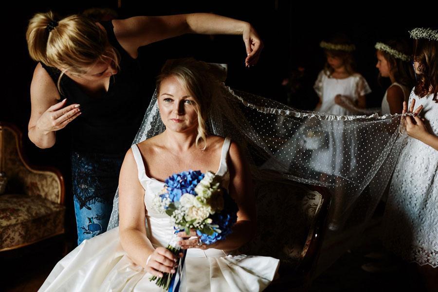 przygotowania do ślubu na zamku