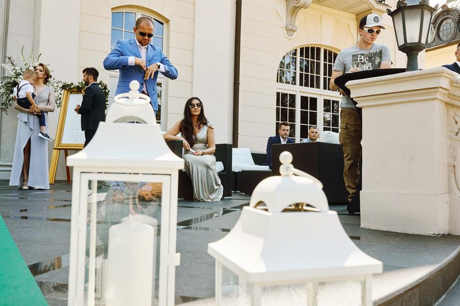 ślub plenerowy pałac goetz