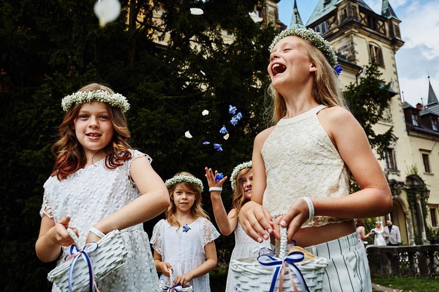 rola dzieci na ślubie