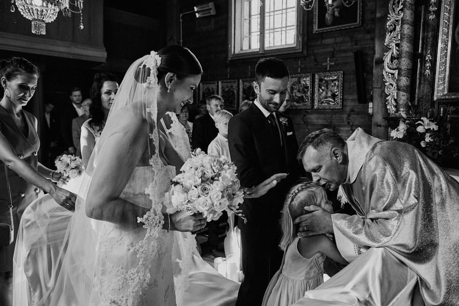 emocjonalny ślub z dziećmi
