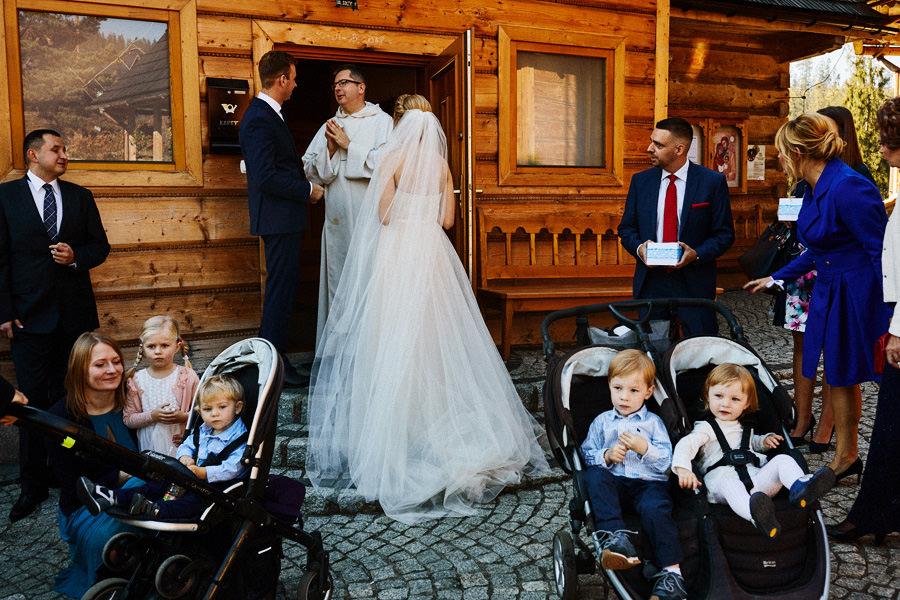 rustykalny ślub na podhalu
