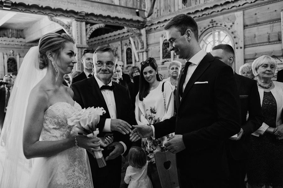 ślub w Małem Cichem