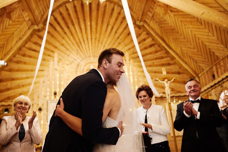ślub na podhalu małe ciche