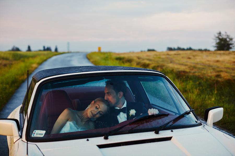 porsche auto do ślubu
