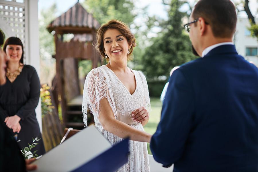 ślub plenerowy Hotel Witek